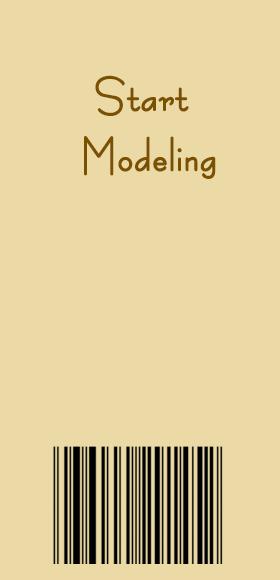 Start modeling