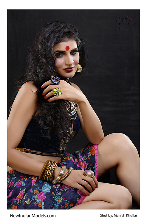 Indian female model portfolio