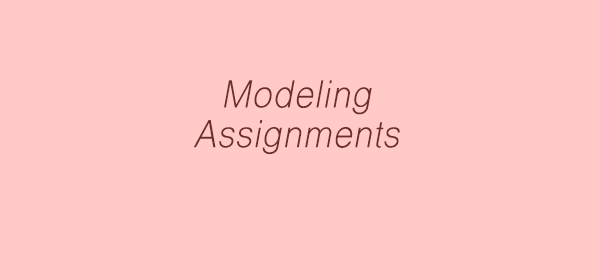 Modeling assignments, auditions in Delhi, Bangalore and Mumbai