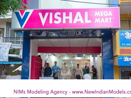 Vishal Mega Mart requires male female model for catalogue shoot