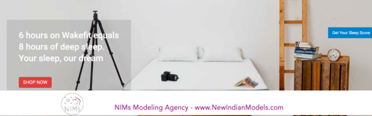 Indian Male & Female models required for mattress shoot