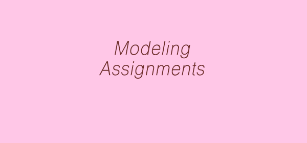 Modeling jobs by modelling agencies