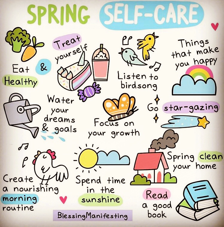 Selfcare tips for modelling